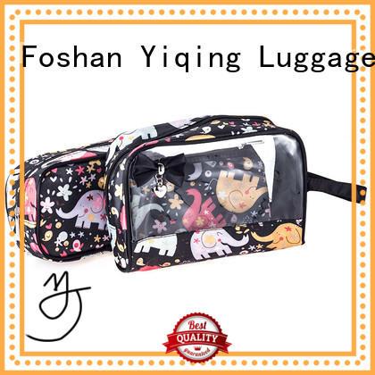 Yiqing Luggage transparent transparent travel bag customization for travel