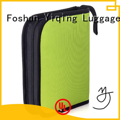 Yiqing Luggage personalized mens canvas toiletry bag wholesale for man