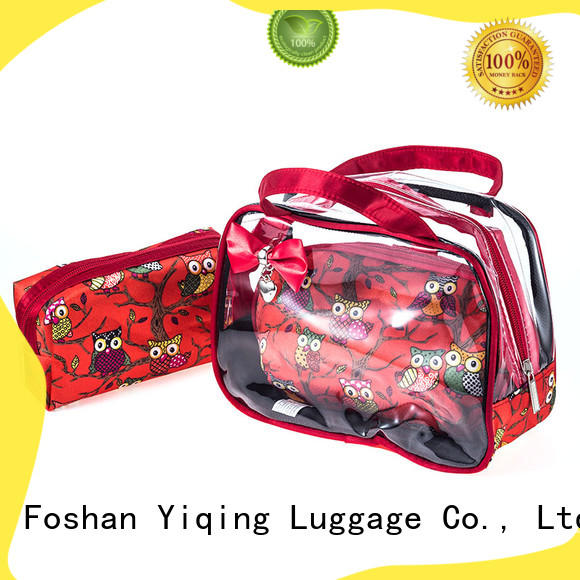 Yiqing Luggage pvc cosmetic pouch for sale for woman