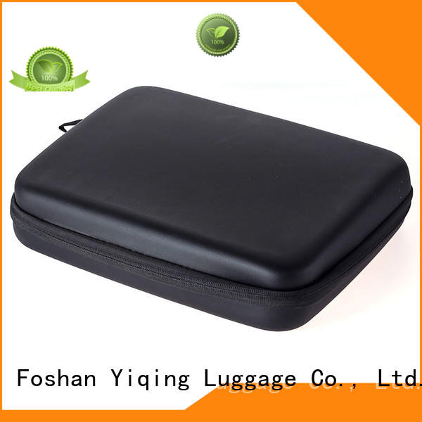 Yiqing Luggage leather leather make up bag customization for lady