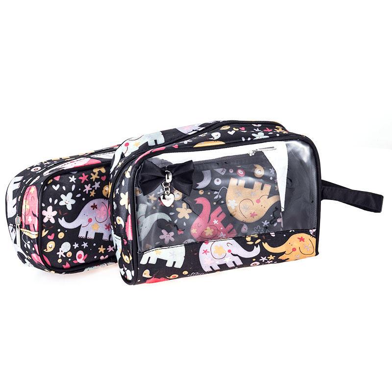 Clear cosmetic bag Portable cosmetic bag Washing bag JJQ-023