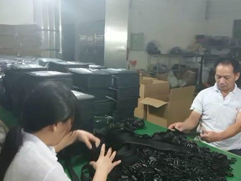 Yiqing bags production and processing