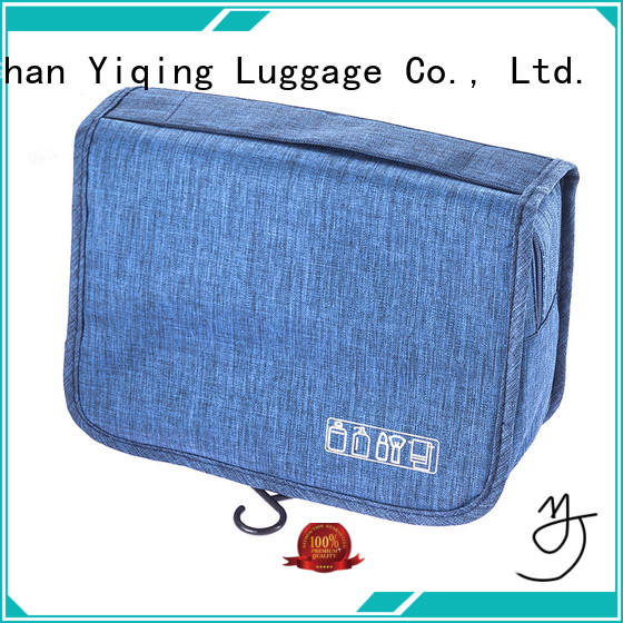 Yiqing Luggage cosmetic pouch supplier for man