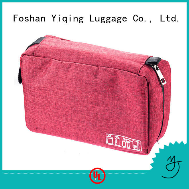 Yiqing Luggage customized oxford makeup bag wholesale for woman