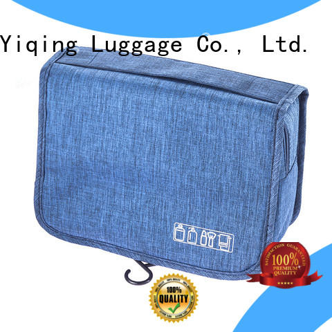 Yiqing Luggage customized best toiletry bag supplier for woman