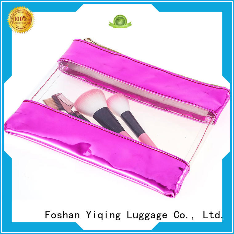 Yiqing Luggage transparent cosmetic bag customization for man