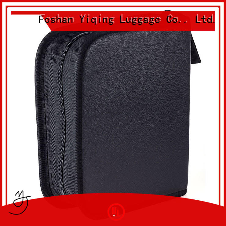 Yiqing Luggage ladies leather toiletry bag for sale for lady