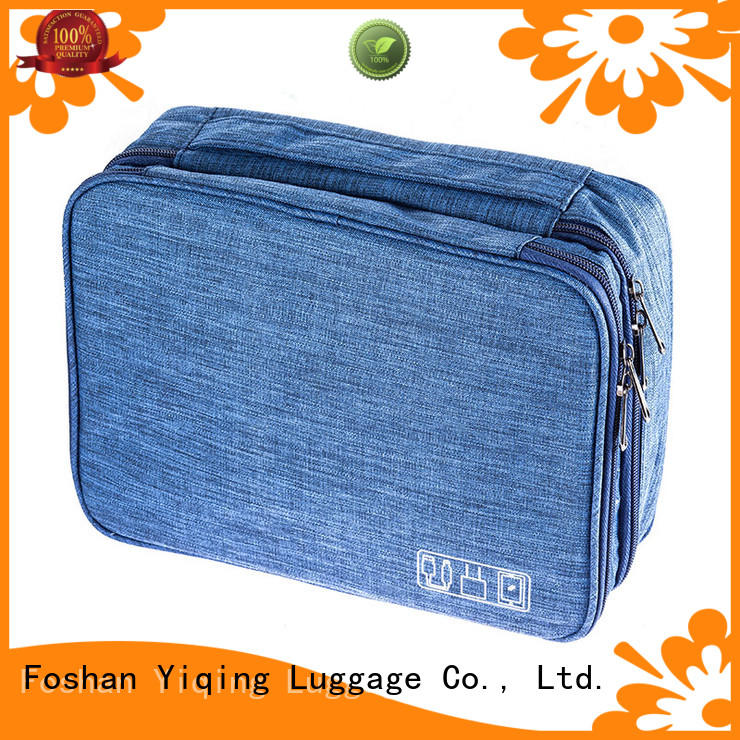 Yiqing Luggage personalized toiletry bag brand