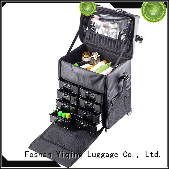 Yiqing Luggage rolling cosmetic case for travel