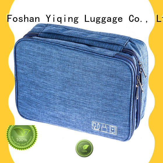 Yiqing Luggage personalized oxford cosmetic bag wholesale for travel