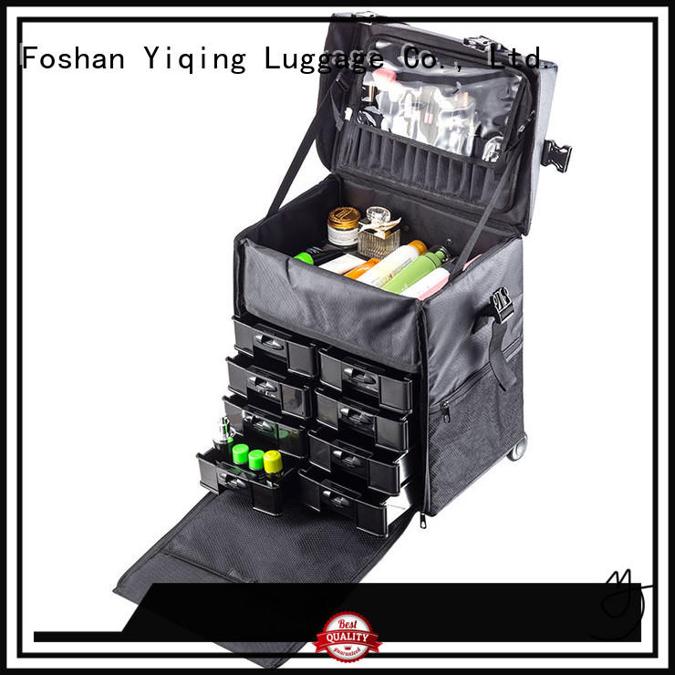Yiqing Luggage makeup storage trolley for sale for women