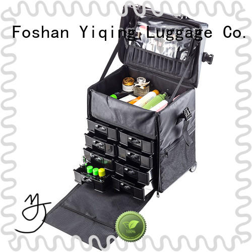 Yiqing Luggage makeup organizer on wheels