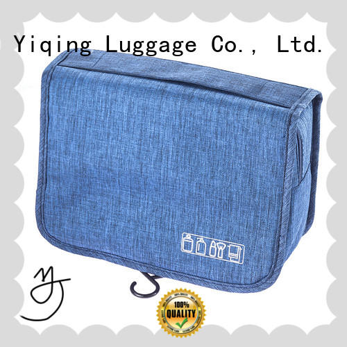 Yiqing Luggage cosmetic and toiletry bags supplier for man