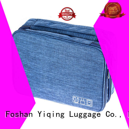 Yiqing Luggage customized makeup and toiletry bags supplier for travel