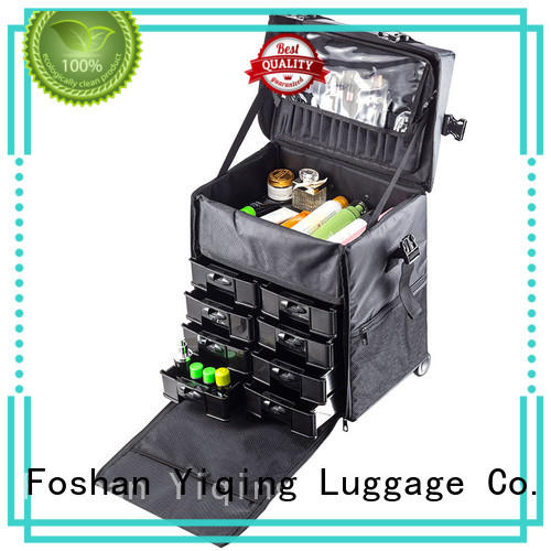 Yiqing Luggage professional makeup cases on wheels wholesale for work