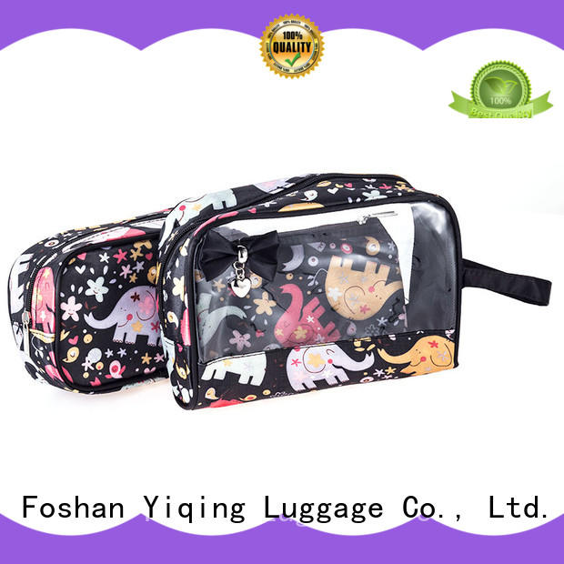 Yiqing Luggage clear clear pvc makeup bag for sale for travel