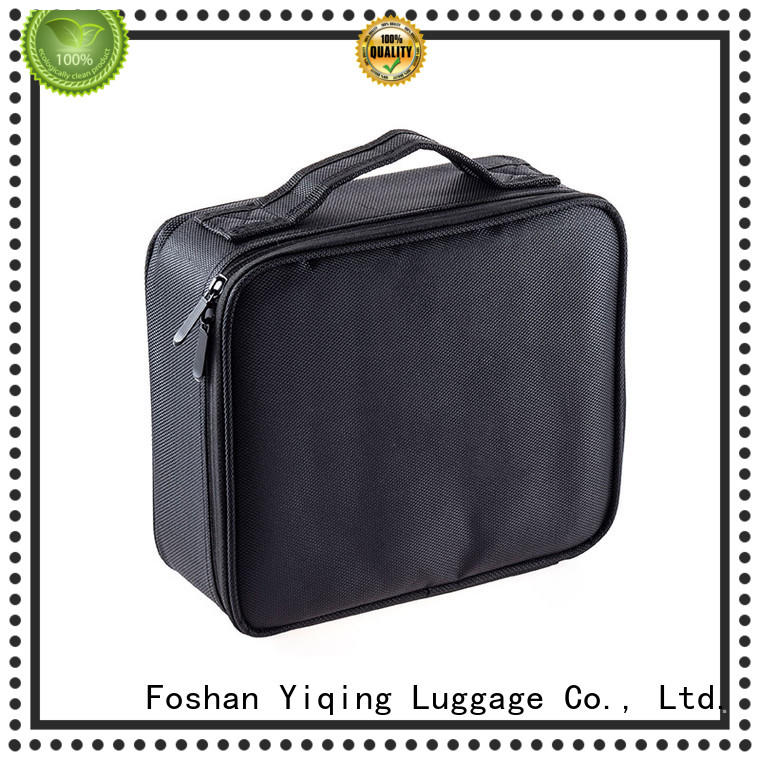 Yiqing Luggage customized canvas cosmetic bag brand
