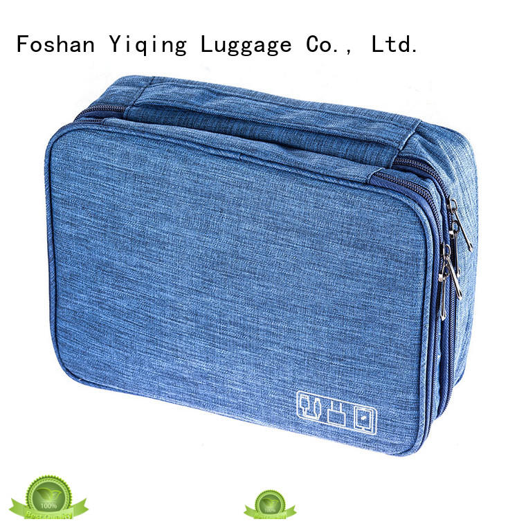Yiqing Luggage waterproof toiletry bag brand for man