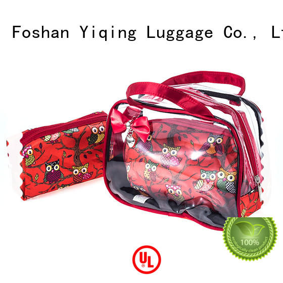 Yiqing Luggage clear wholesale pvc cosmetic bag for sale for man