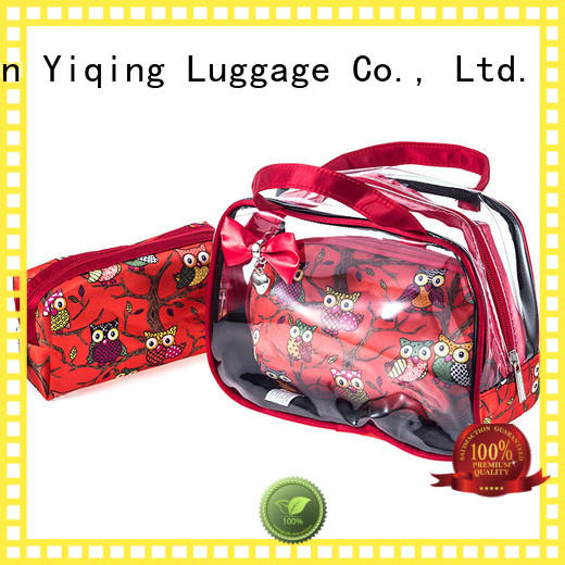 Yiqing Luggage wholesale clear travel bag for sale for travel