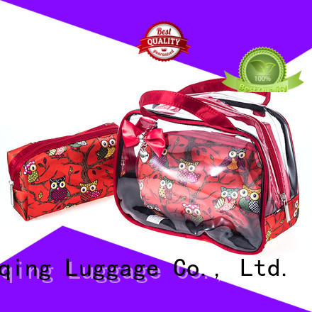 Yiqing Luggage clear cosmetic bags wholesale customization for travel