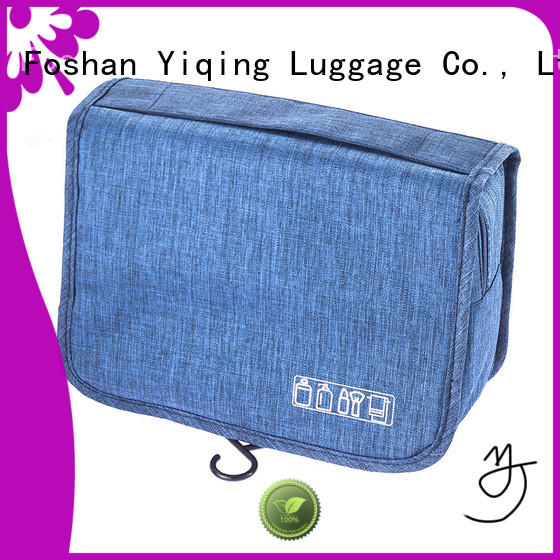 Yiqing Luggage waterproof wholesale canvas makeup bags wholesale