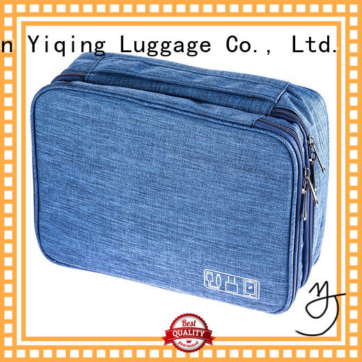 Yiqing Luggage canvas Oxford Toiletries Bag brand for man