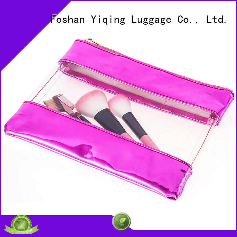 Yiqing Luggage clear pvc cosmetic bag customization for woman