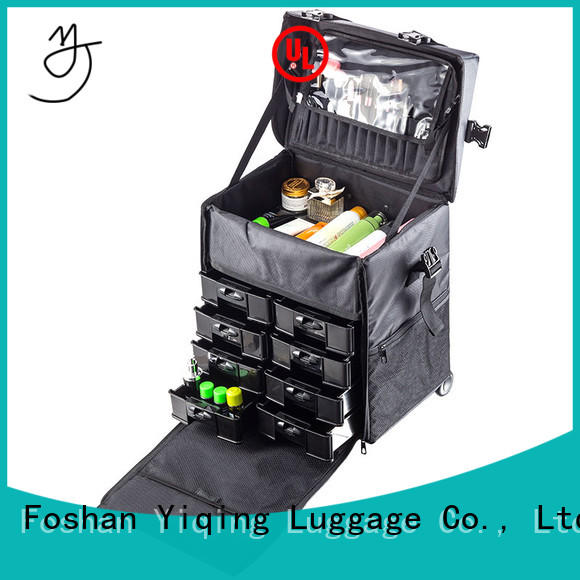 Yiqing Luggage makeup organizer on wheels for sale