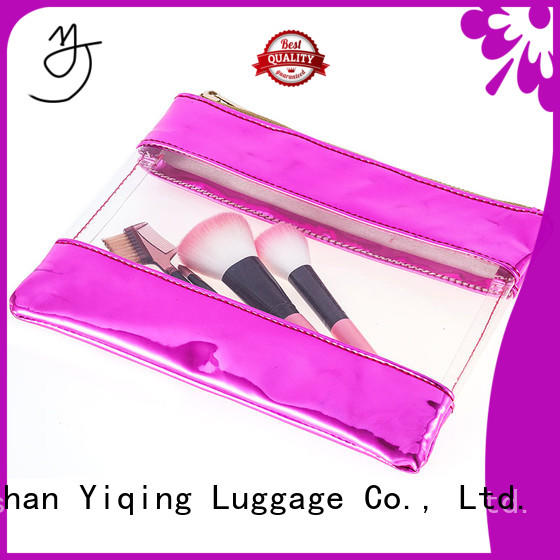 Yiqing Luggage clear clear plastic toiletry bag customization for man