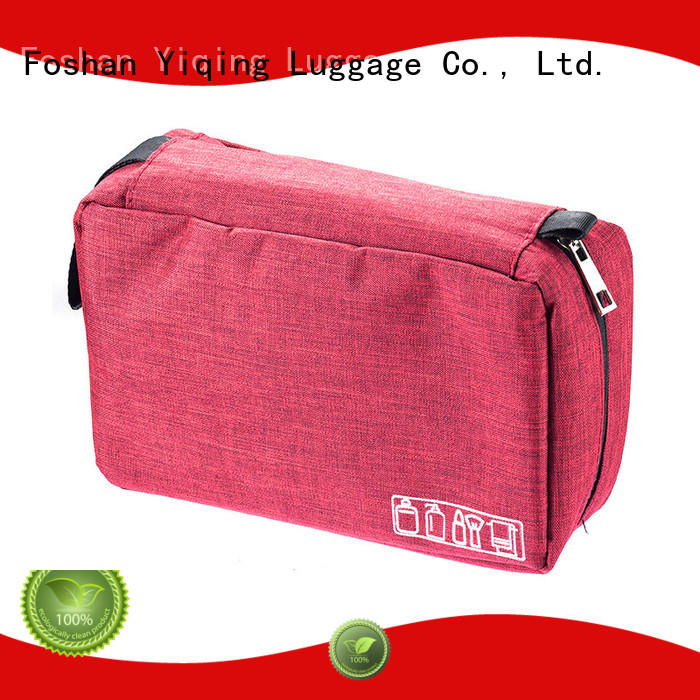 Yiqing Luggage customized waterproof toiletry bag brand for woman