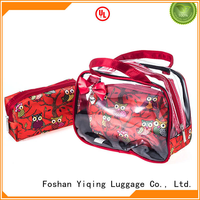 Yiqing Luggage clear clear cosmetic pouch for sale for woman