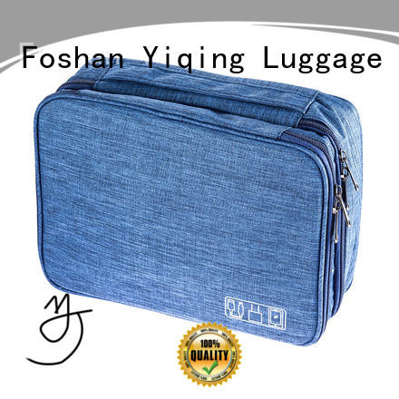 Yiqing Luggage waterproof canvas toiletry bag wholesale for travel