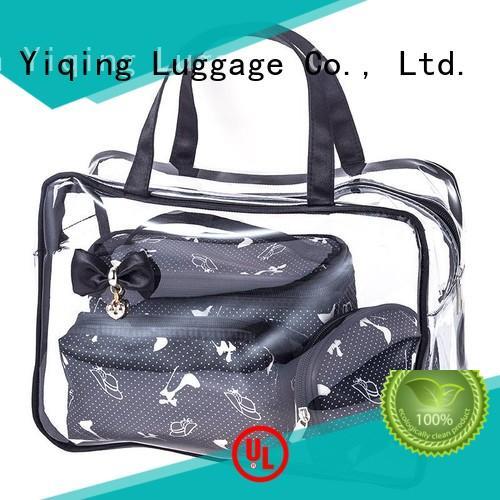 transparent pvc cosmetic bag customization for man
