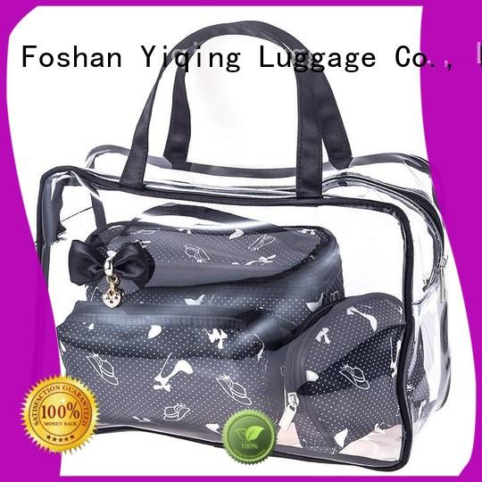 Yiqing Luggage clear pouch bags for sale for man
