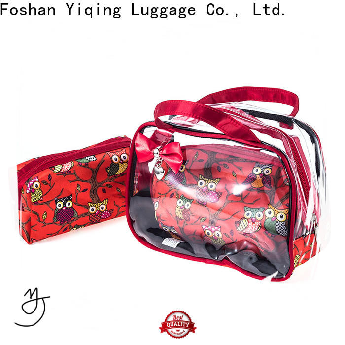 Yiqing Luggage clear plastic travel bag wholesale for travel