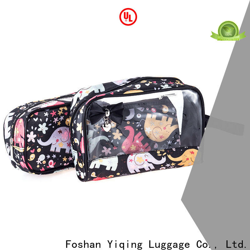 Yiqing Luggage clear pvc travel bags for sale for man