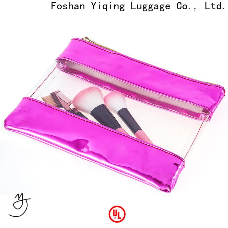Yiqing Luggage pvc makeup bag customization for travel
