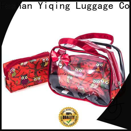 transparent clear plastic travel bag for sale for woman