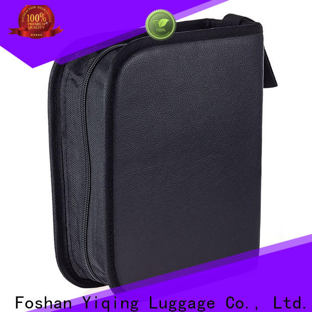 Yiqing Luggage leather mens leather cosmetic bag customization for woman