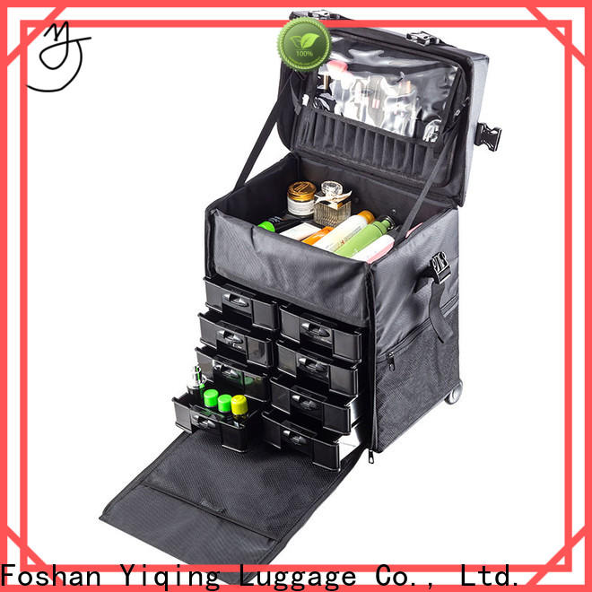 Yiqing Luggage cosmetic trolley case for sale for work