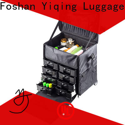 Yiqing Luggage cosmetic trolley case for sale