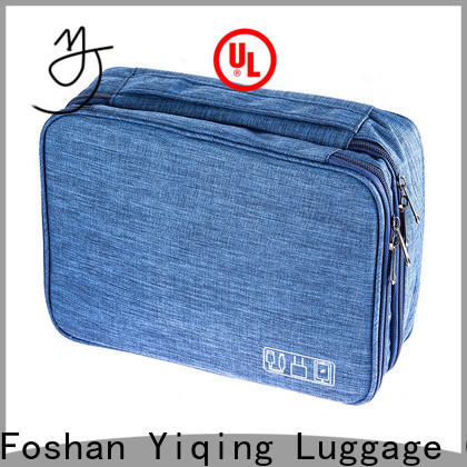 Yiqing Luggage canvas mens travel toiletry bag supplier for travel