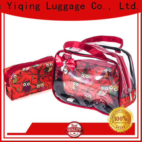 clear clear wash bag wholesale for travel
