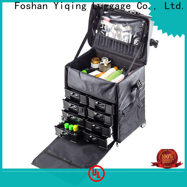 Yiqing Luggage makeup box on wheels for travel