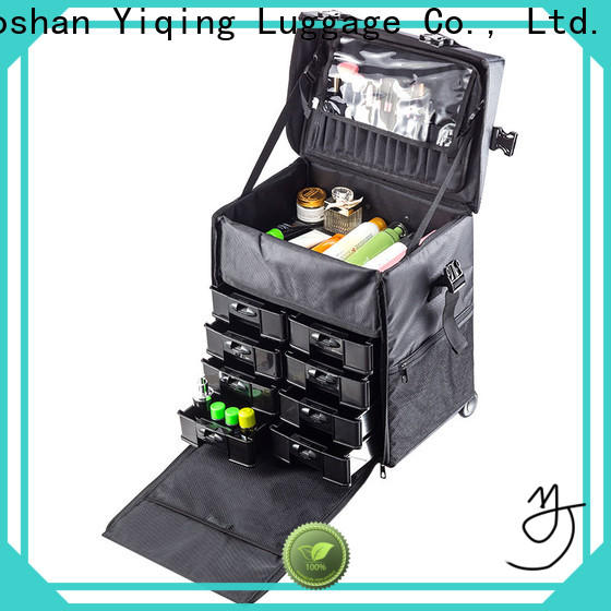 Yiqing Luggage professional makeup luggage on wheels for sale for women