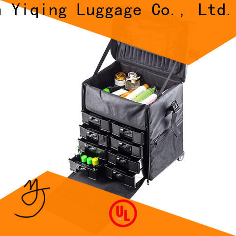 fashion makeup travel case on wheels wholesale for travel