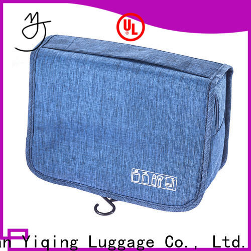 Yiqing Luggage customized wholesale toiletry bags supplier