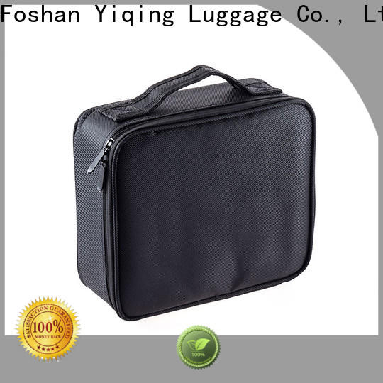 Yiqing Luggage customized wholesale canvas makeup bags supplier