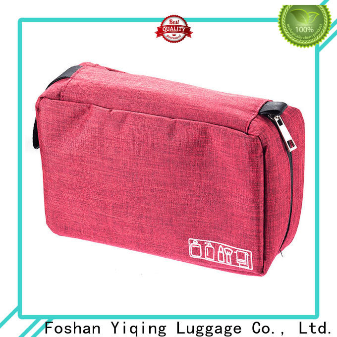 Yiqing Luggage personalized makeup and toiletry bags supplier for man